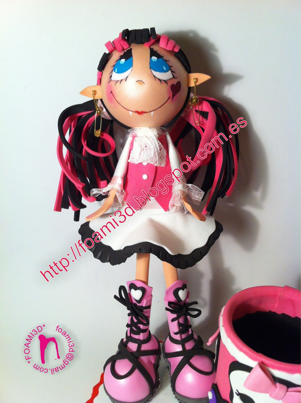 Fofucha Draculaura (Monster High)