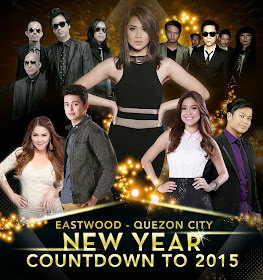 Eastwood - Quezon City New Year Countdown to 2015