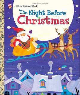 bookcover of Little Golden Book's NIGHT BEFORE CHRISTMAS