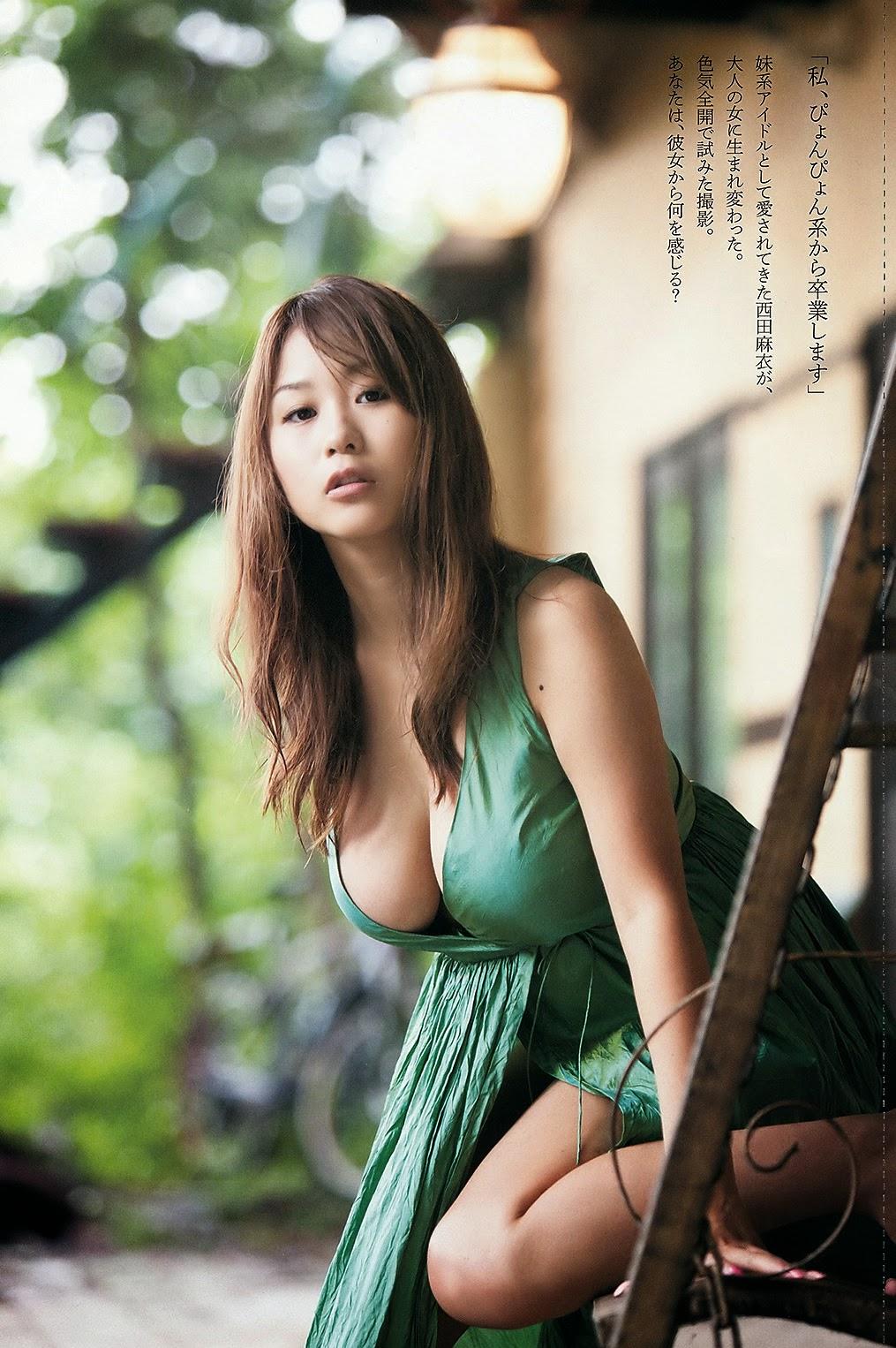 Gái xinh Mai Nishida vòng 1 quyến rũ đàn ông