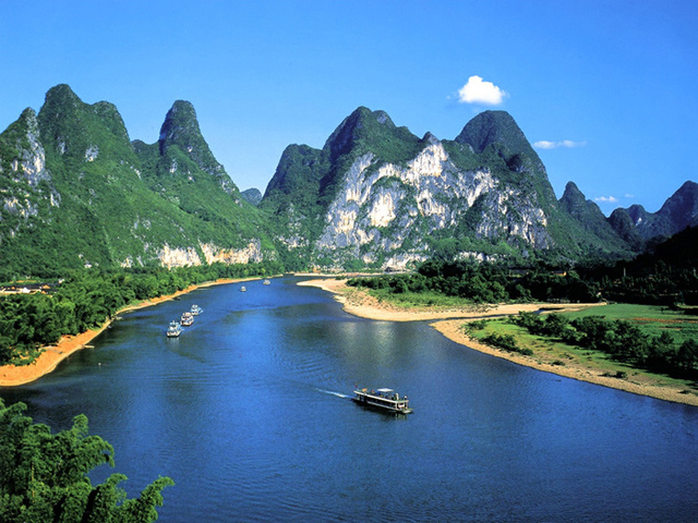 Геопарк Гуйлинь,Гуйлинь,Китай,отдых летом