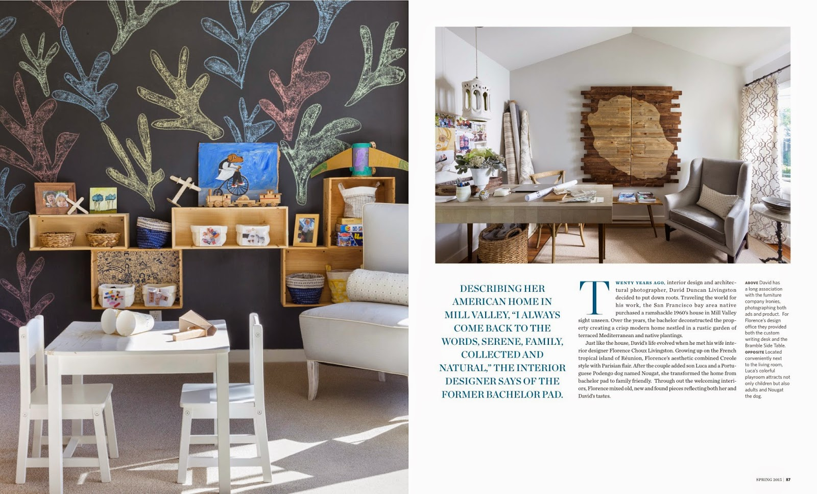 A Mill Valley House California Homes Magazine Spring 2015