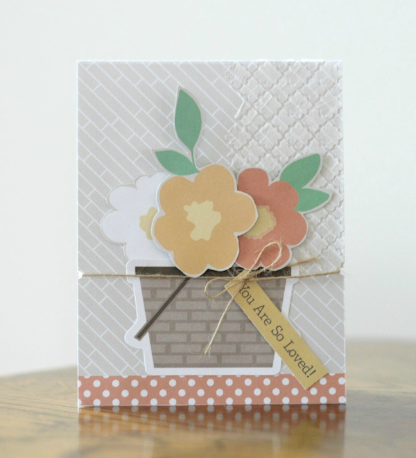 Amy Tsuruta Chickaniddy Crafts Cards W/Flowers
