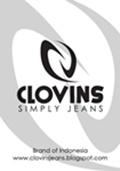 logo clovins jeans