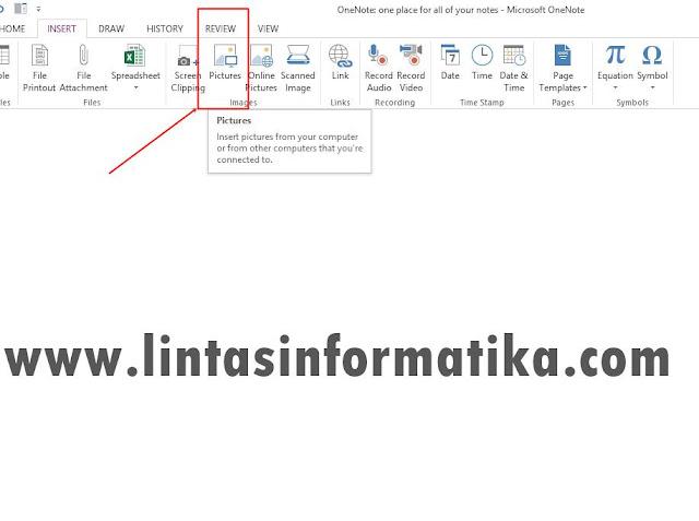 Cara Mengubah Gambar JPG Menjadi Text Dengan Ms. Office OneNote