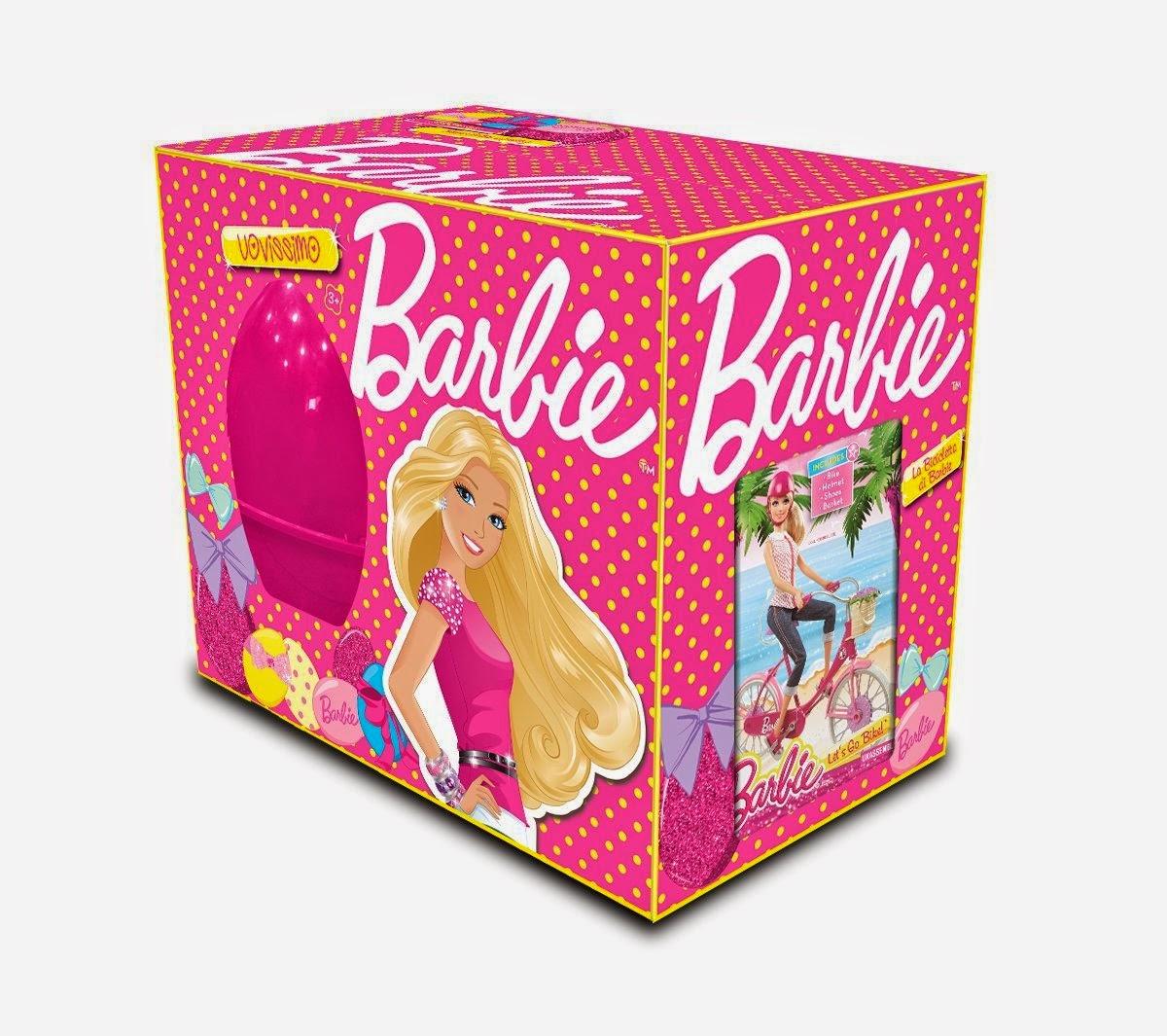 Uovissimo 2014 Barbie Mattel regali a sorpresa giocattoli pasqua contenuto prezzo