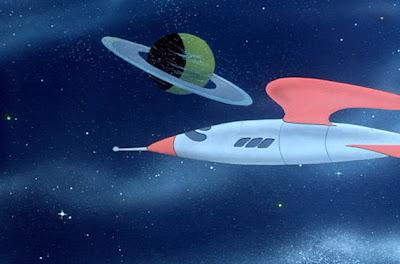 Duck dodgers spaceship
