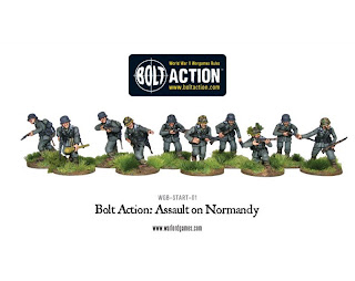 Bolt Action Assault on Normandy Starter Set, German Heer Infantry
