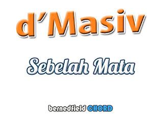 Lirik dan Chord(Kunci Gitar) D'Masiv ~ Sebelah Mata