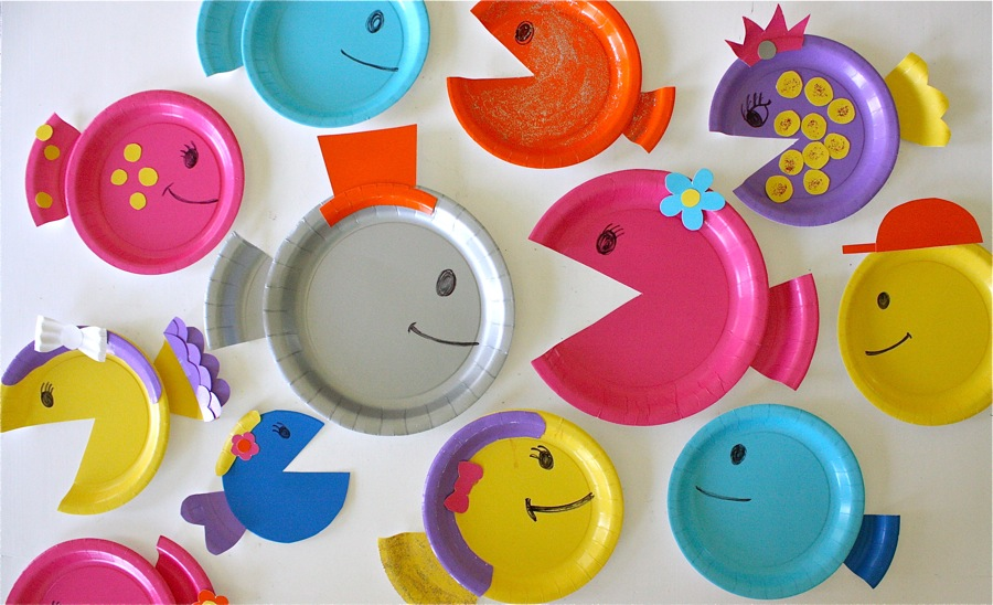 Paper Plate Fish MADE EVERYDAY