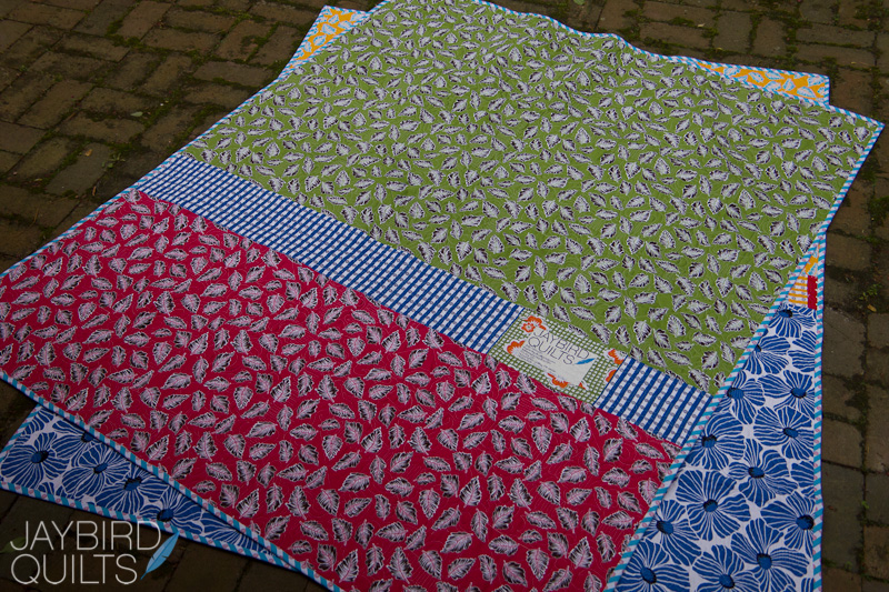 Tutorial - How to make A Pieced Quilt Back | Jaybird Quilts : how to sew backing on quilt - Adamdwight.com