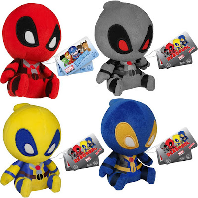Deadpool Marvel Mopeez Plush Series by Funko