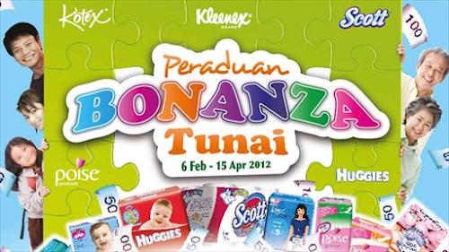 Peraduan 'Bonanza Tunai' Kimberly-Clark