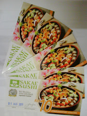 RM10 Sakae Sushi Voucher Contest Winners :
