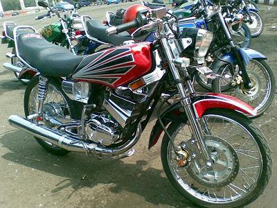 New Foto Modifikasi Sepeda Motor Yamaha Rx King 2012 ~ KANGJEM