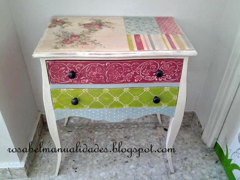 Muebles decorados a mano - Muebles decorados a mano ...