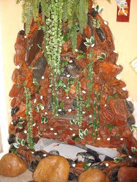 6.....ref : 0106 cascata fixa pedras mistas