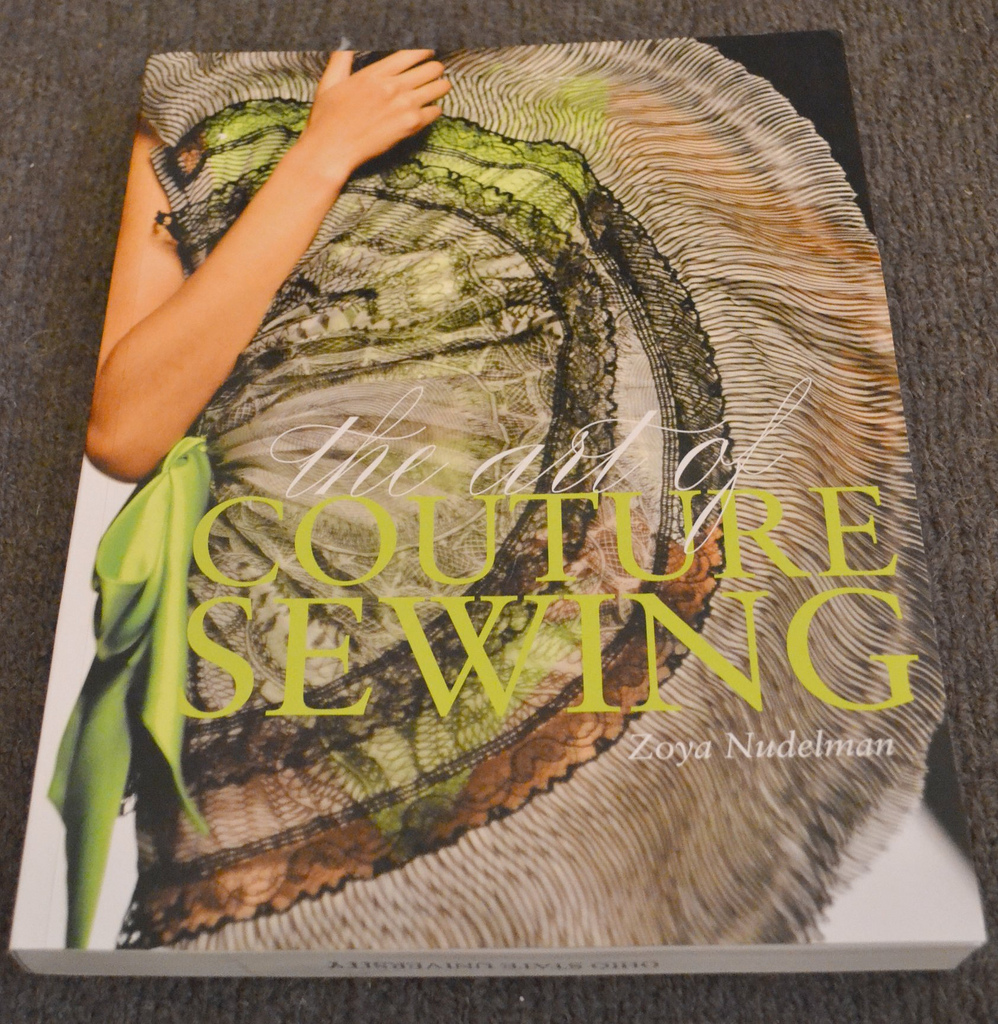 Tornangel the art of couture sewing book review
