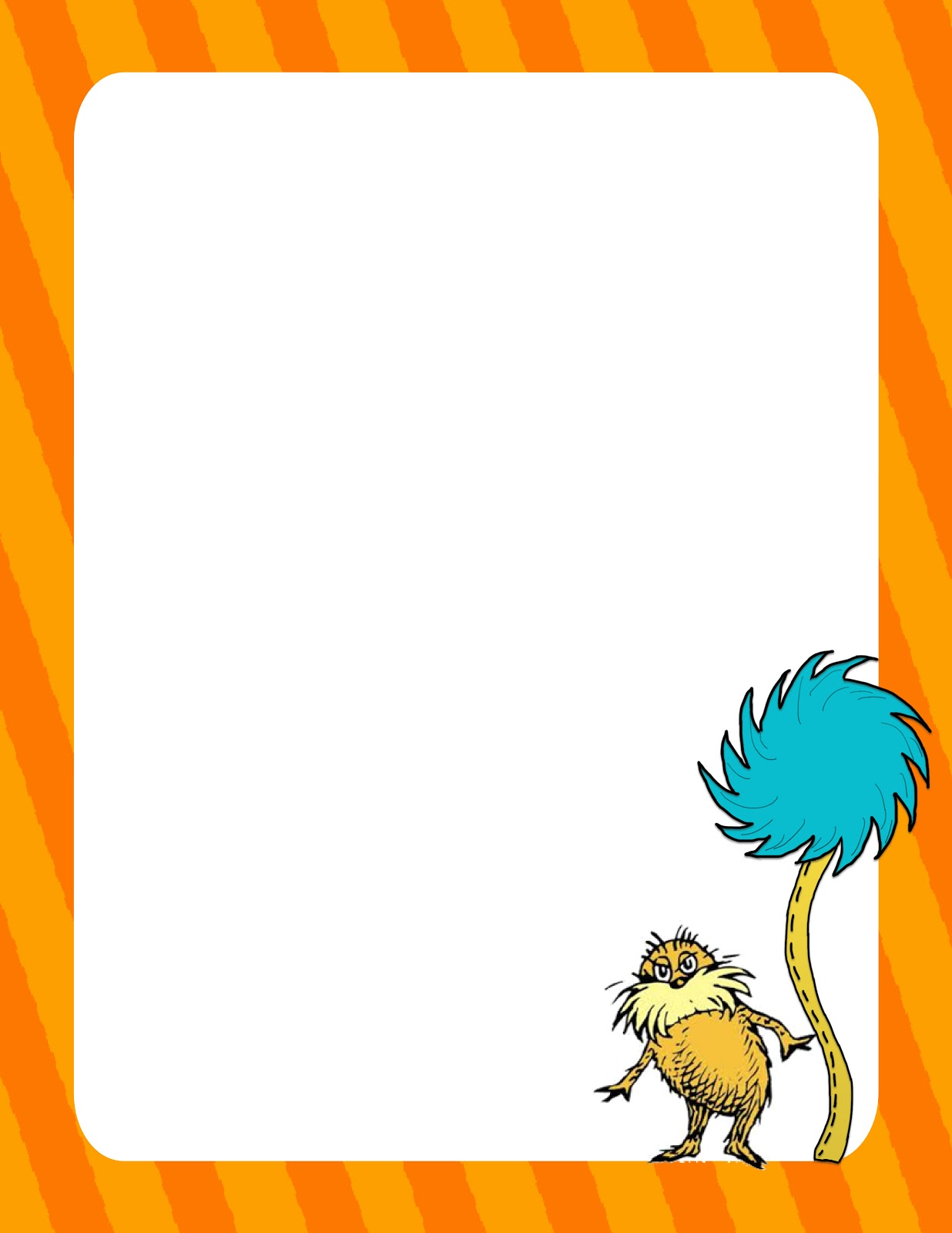 ... to post up some free dr seuss line papers grab all 6 pages for free