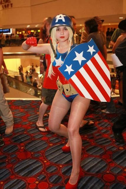 Capt America Hottie