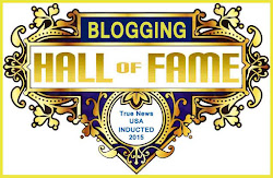 Proud Inductee of the Blogging Hall of Fame