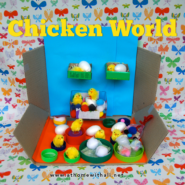 at home with ali chicken world an easter craft