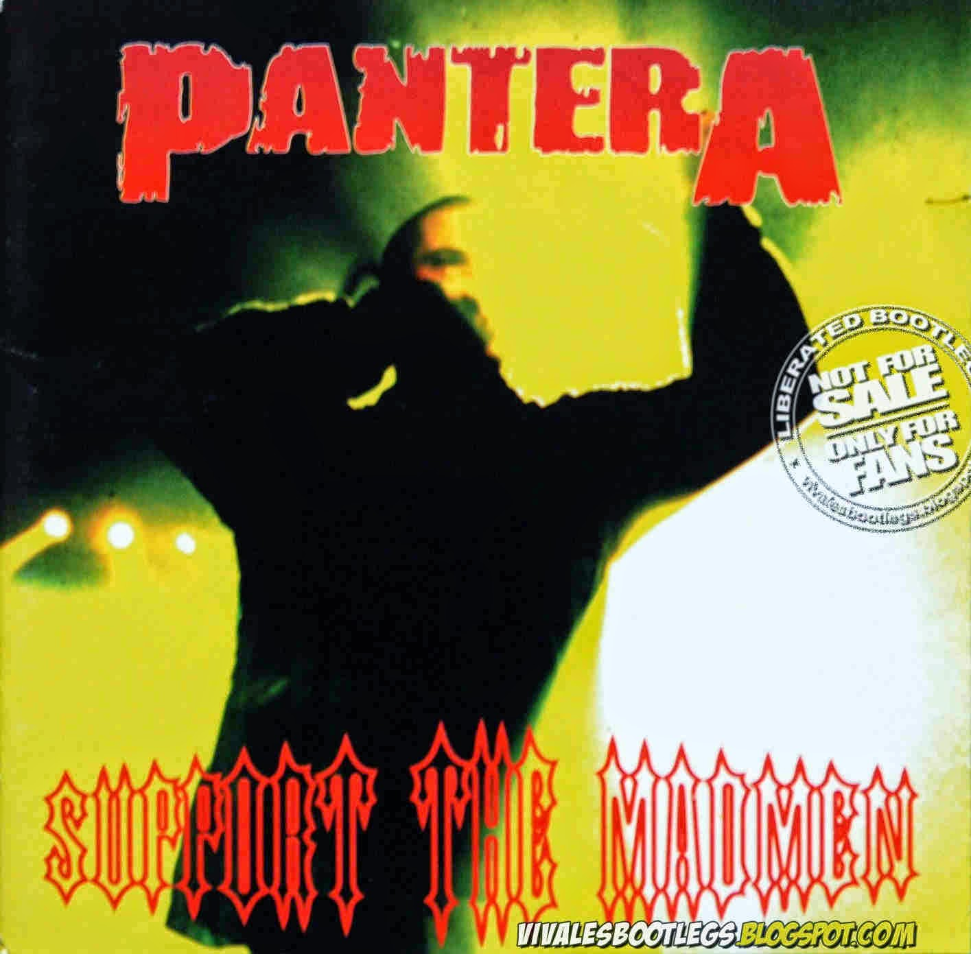 Pantera Support the Madmen front cover