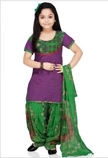 Koleksi baju anak perempuan ala india trend terbaru