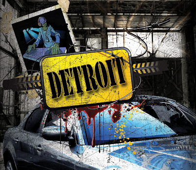 Detroit, once the envy of the world now sits bankrupt and in ruins.