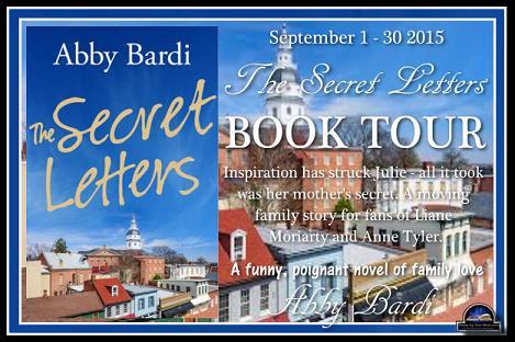 secret letters blog tour banner