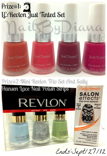 NailsByDiana's The Almost End Of Summer Giveaway