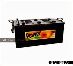 povver akü ağır hizmet serisi 12 volt 128 amper