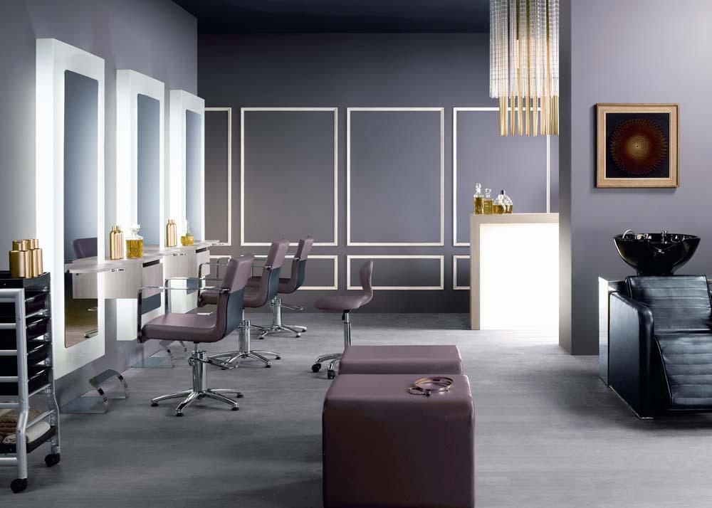 Dise o de salones de belleza for Diseno de salones modernos