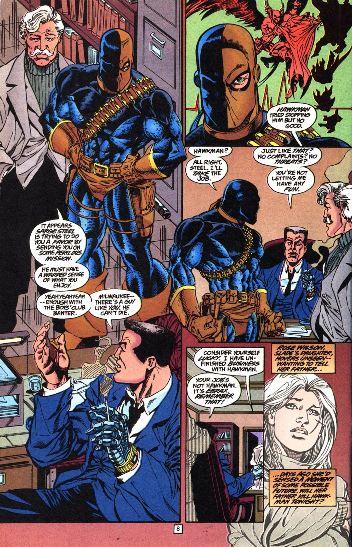 Deathstroke (1991) Issue #52 #57 - English 9