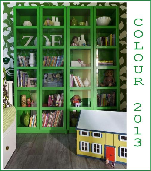 Tendenze verde smeraldo blog di arredamento e interni dettagli home decor - Libreria verde ...
