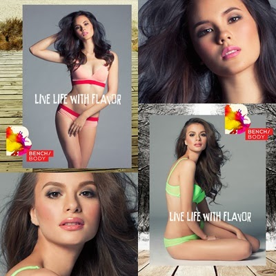 Catriona Gray and Valerie Weigmann for Bench Summer 2014