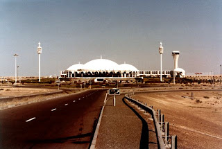 The international Sharjah airport was built in the stage following the start of oil exports, old and rare photos