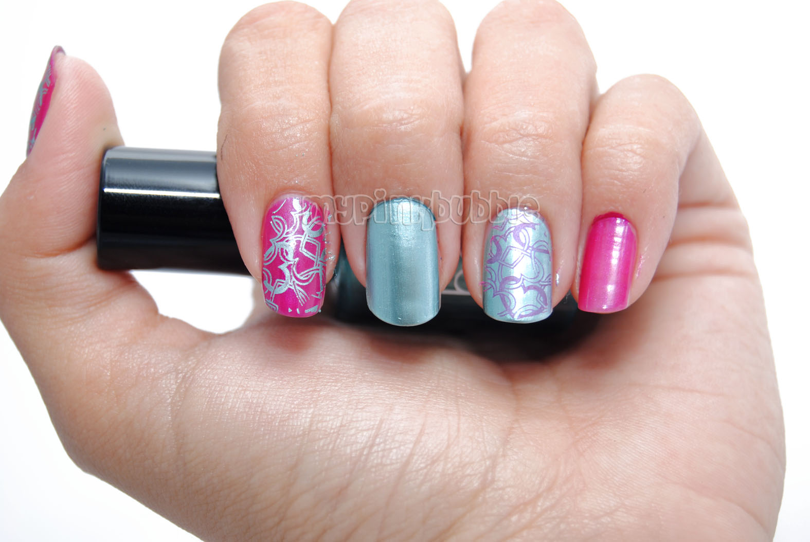 manicura chrome