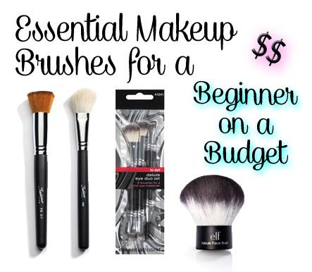 VIDEO: Essential Makeup Brushes - Beginner on a Budget: GetGlammedUp