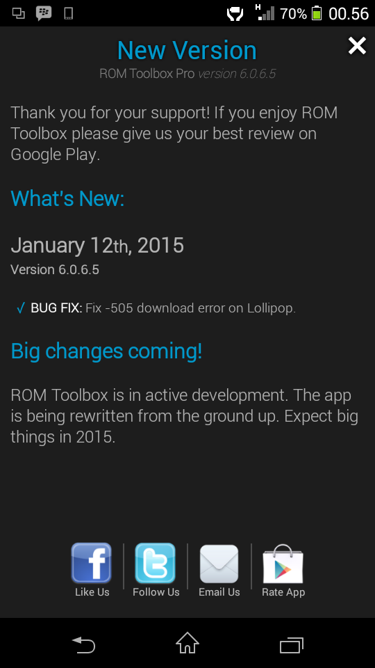 ROM Toolbox Pro Apk Gratis