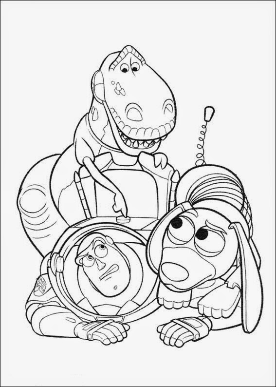 Coloring Pages Toy Story free printable coloring pages
