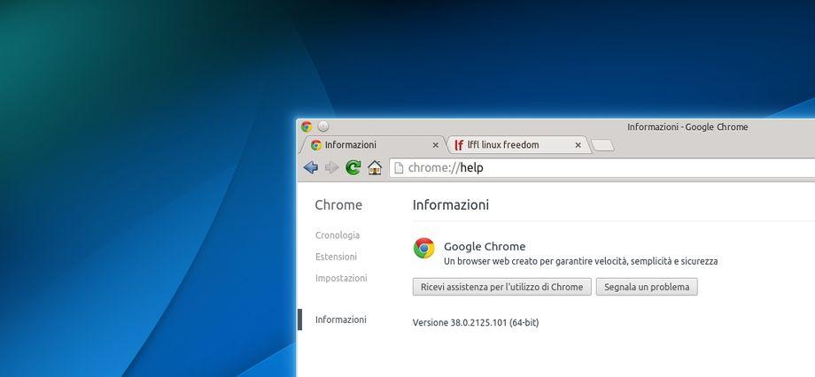 Google Chrome 38