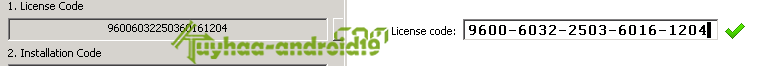 License Code