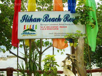 ilihan beach resort samal island