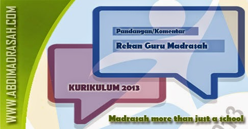 Pandangan Guru Madrasah