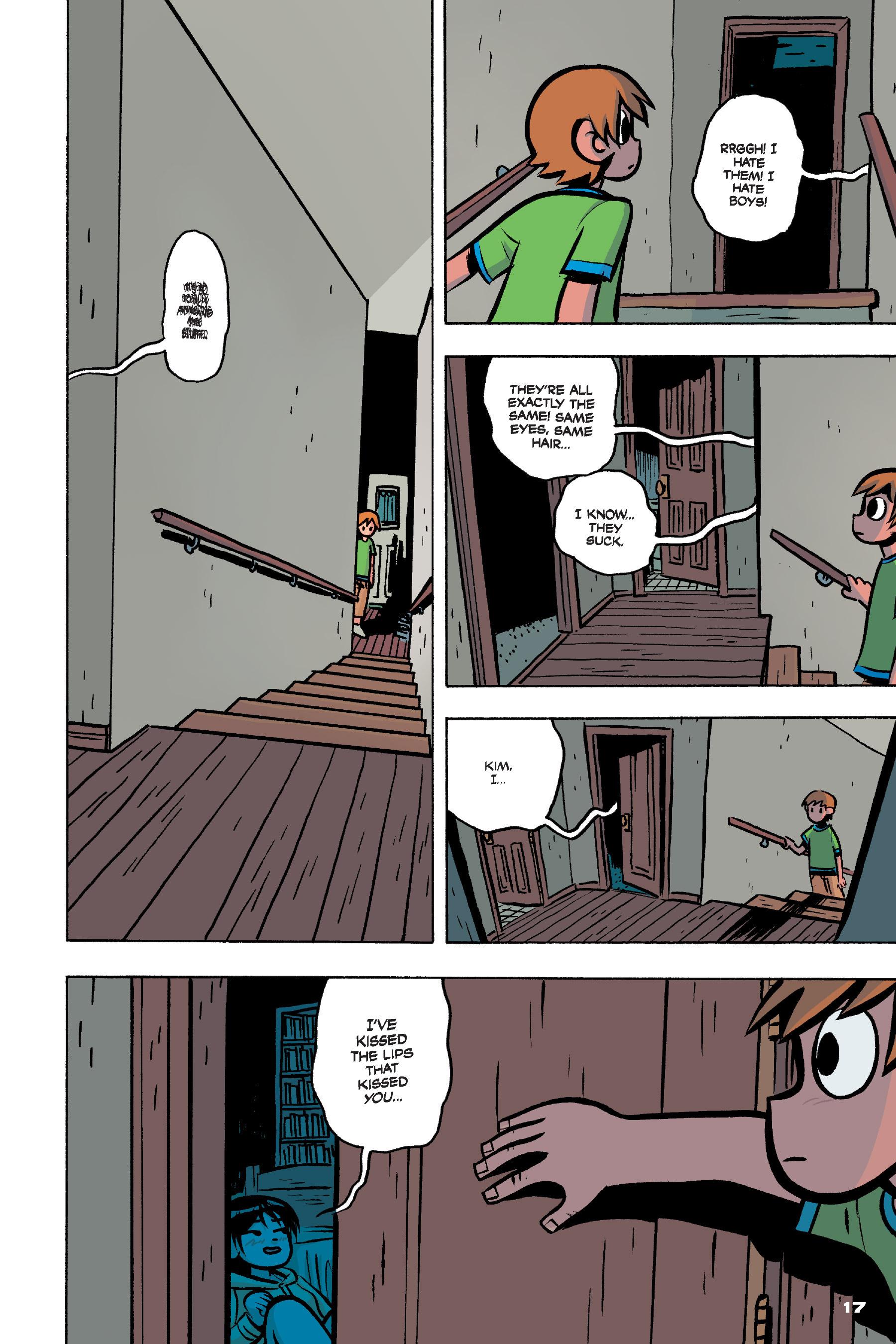 Read online Scott Pilgrim comic -  Issue #4 - 16
