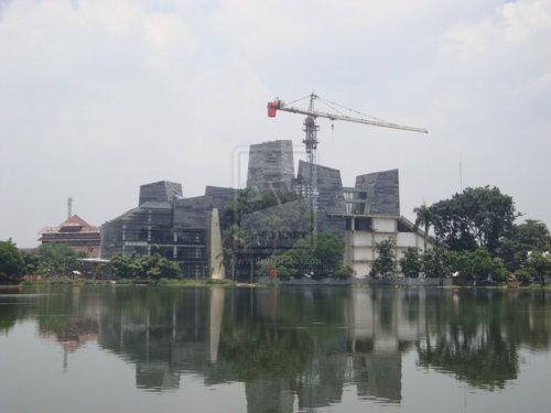 Perpustakaan Universitas Indonesia (UI) - Mega Proyek Kedua Indonesia