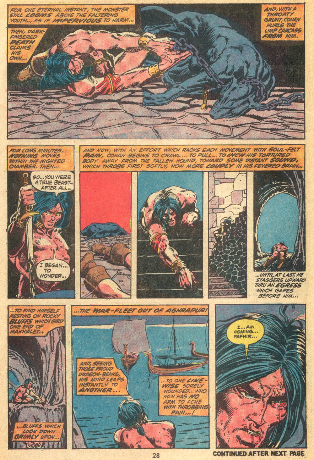 Conan the Barbarian (1970) Issue #20 #32 - English 19