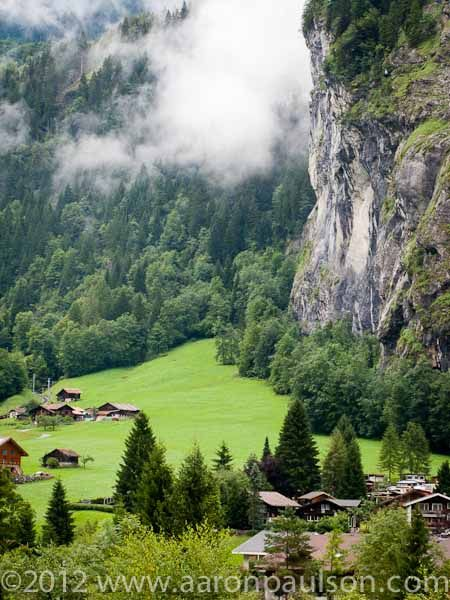 Awesome Lauterbrunnen Valley,Switzerland