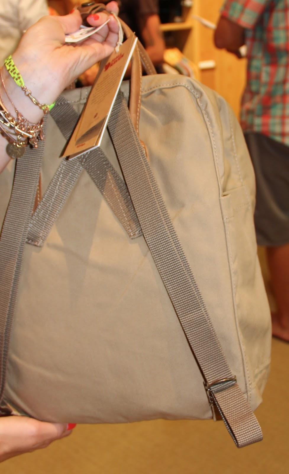 kanken how to adjust straps